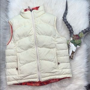 L.L. Bean // Reversible Down Feather Vest